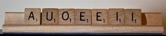 An all vowel rack